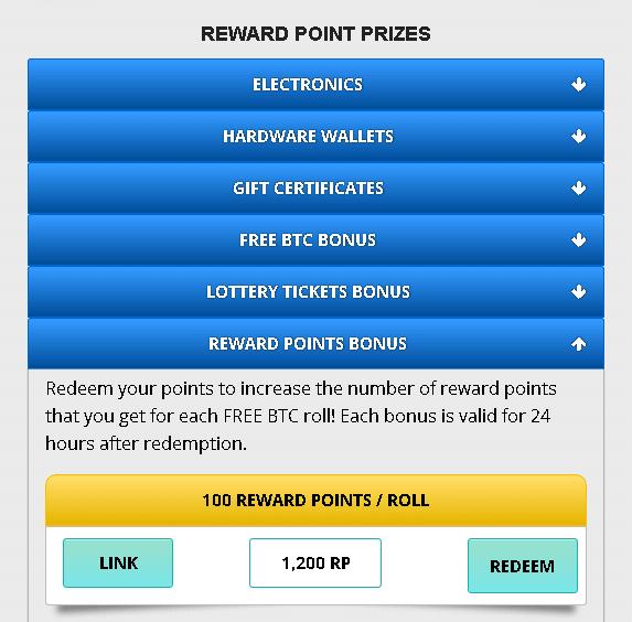 freebitco-reward-punkti